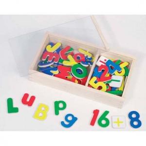 Magnetische letter- en cijferset