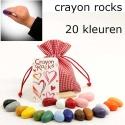 20 crayon rocks
