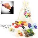 32 crayon rocks