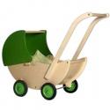 groene poppenwagen